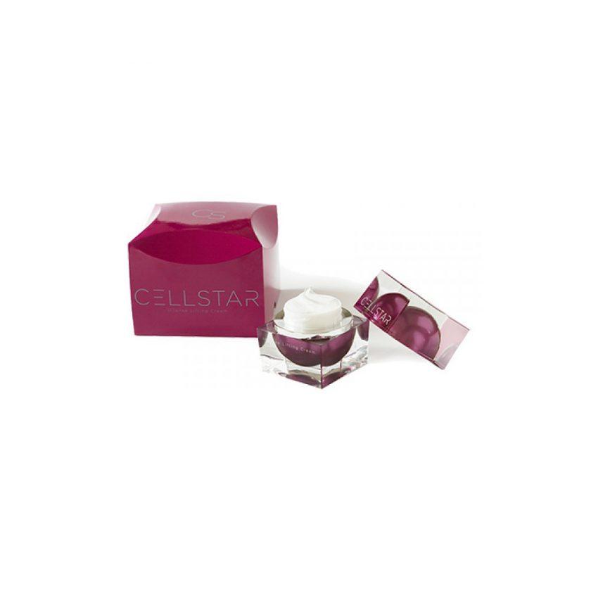 Produktfoto der geöffneten Cellstar Intense Lifting Cream gegen Falten und Pigmentstörungen