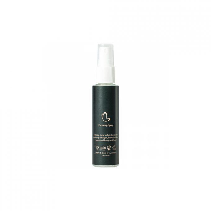 Produktfoto des schwarzen Cellstar Forming Sprays zur Vorbeugung von Cellulite und Förderung des Fettabbaus