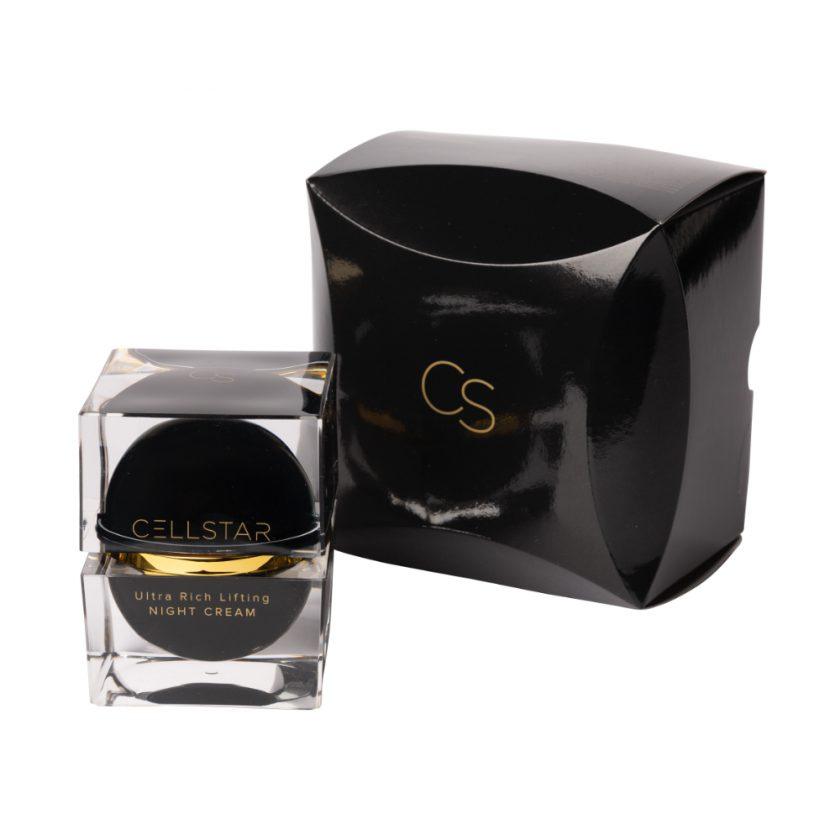 Produktfoto der regenerierenden und reichhaltigen Cellstar Ultra Rich Lifting Night Cream